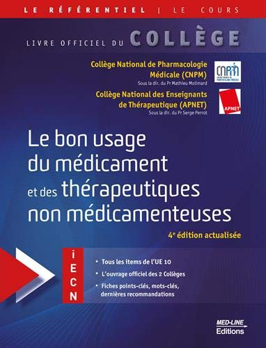 Référentiel Collège Le bon usage du médicament et des thérapeutiques non médicamenteuses
