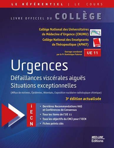 Référentiel Collège d'Urgences Défaillances viscérales aiguës, Situations exceptionnelles (Épidémies, attentats, exposition nucléaire-radiologique-chimique)