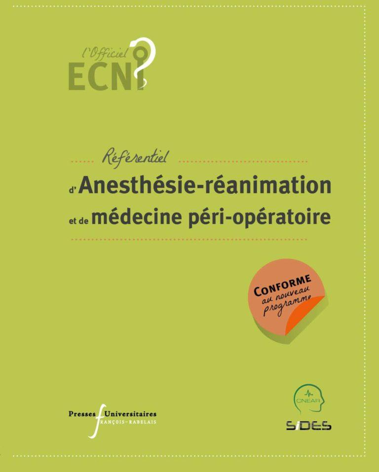 Anesthésie-réanimation et de médecine péri-opératoire