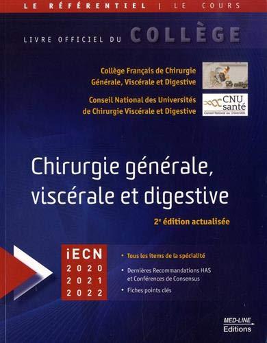Référentiel Collège de Chirurgie générale, viscérale et digestive